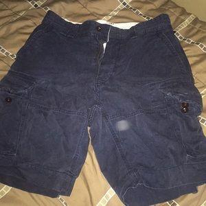 MENS Polo Ralph Lauren Cargo Shorts Size 31